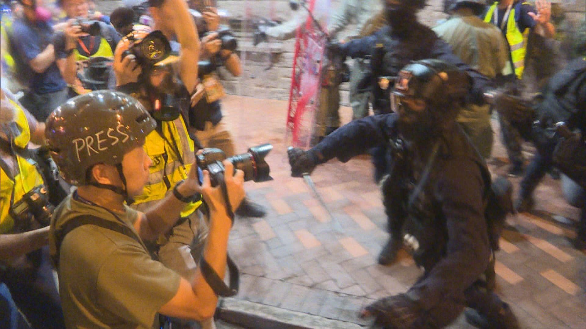 記協譴責警方阻撓記者採訪