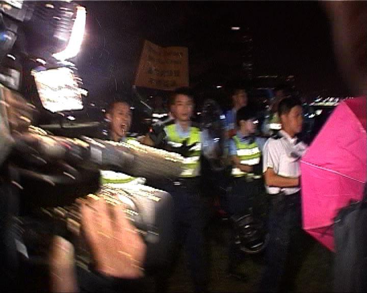 記協等嚴正抗議警員粗暴對待記者