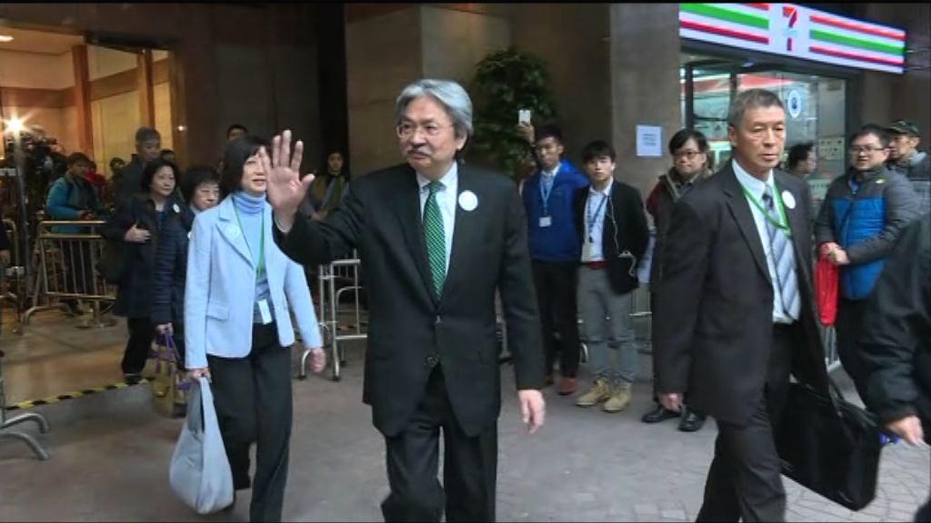 曾俊華交表參選特首 非泛民提名不足40個
