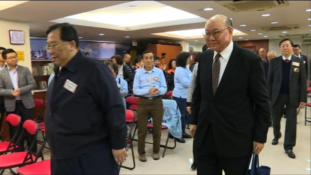 道教選委分別晤曾俊華及胡國興