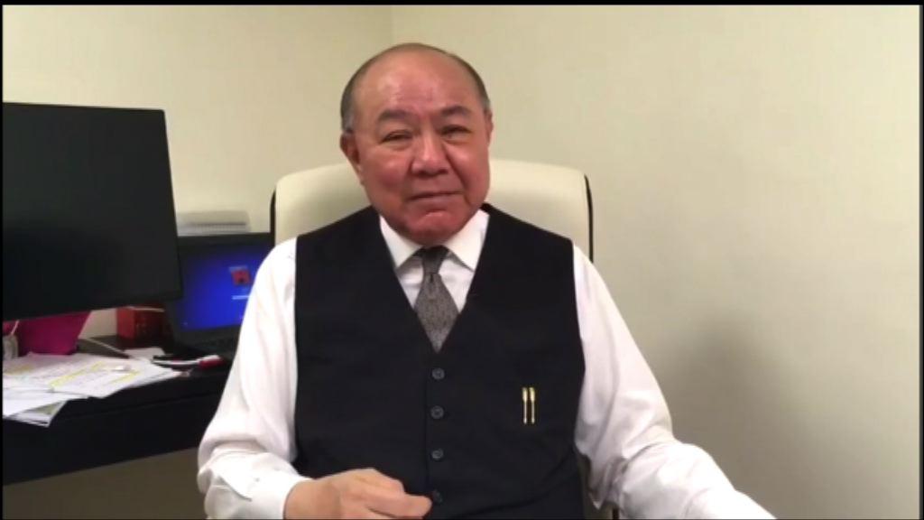 胡國興:曾俊華政改立場太軟弱
