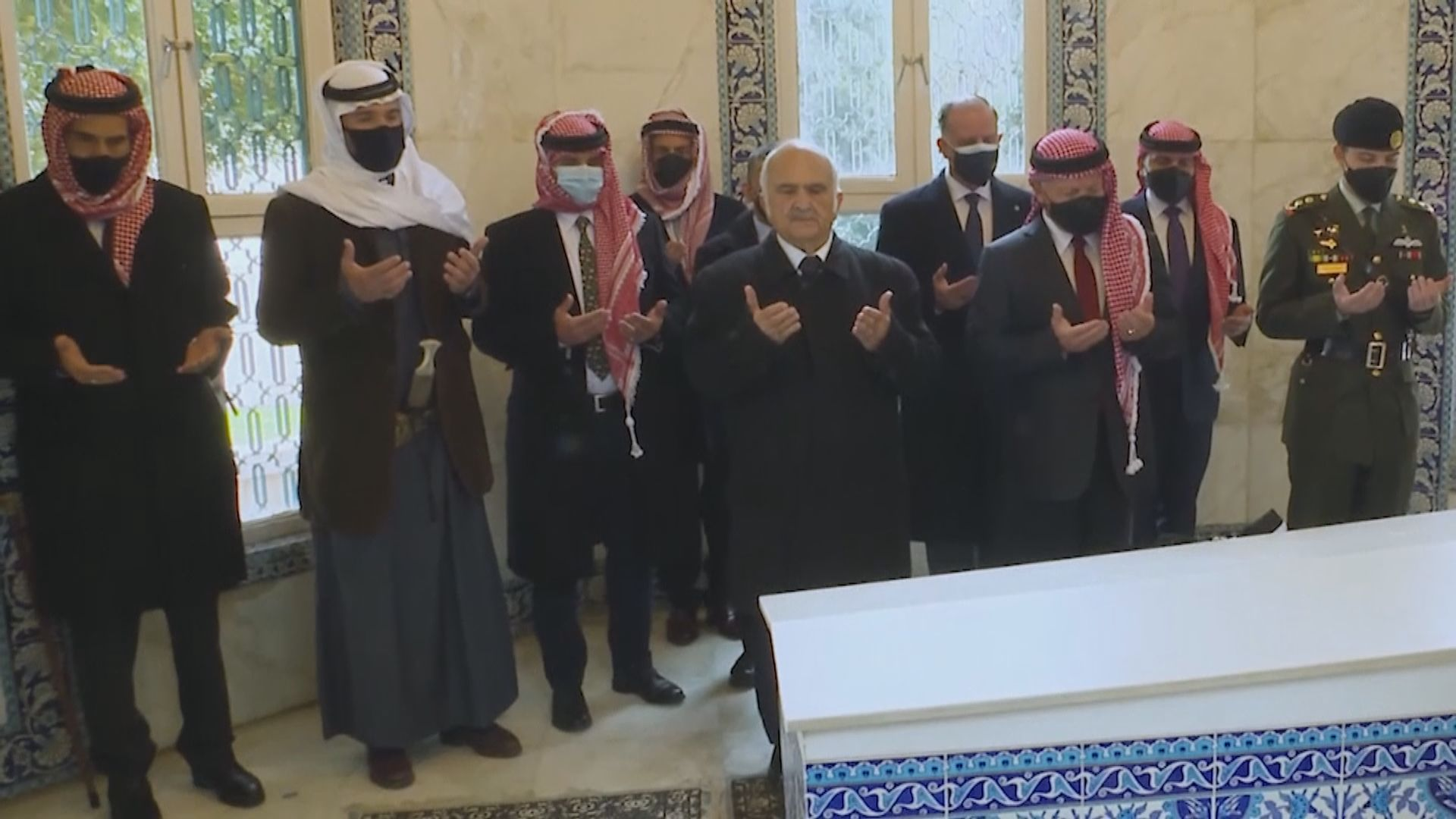 約旦王室風波後國王及前王儲首度共同露面