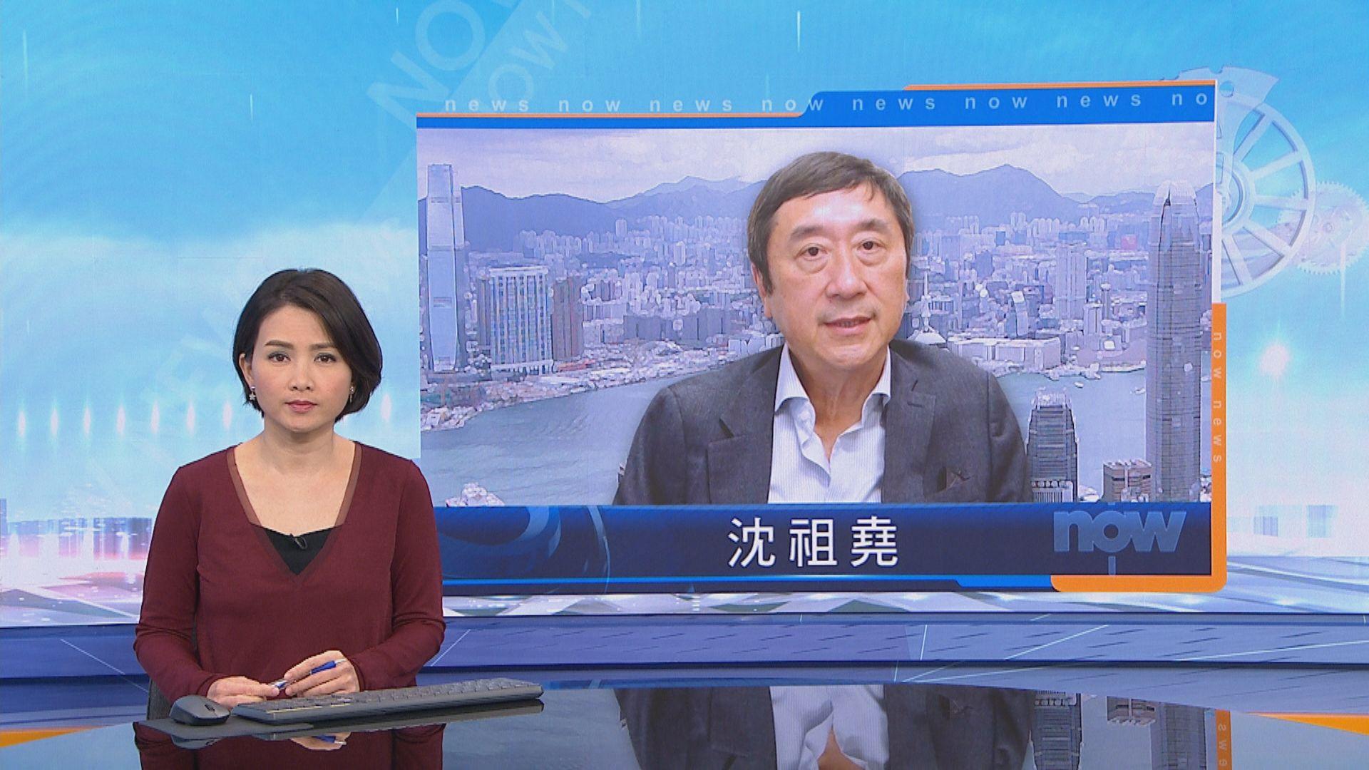 沈祖堯:盼能建立香港新加坡防疫上合作關係