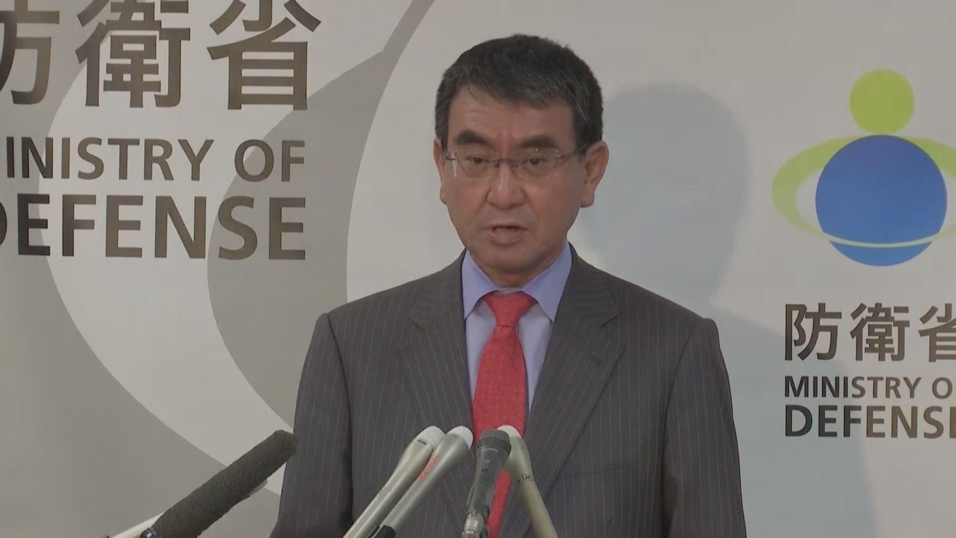 防衛大臣河野太郎表示會認真考慮參選黨總裁選舉