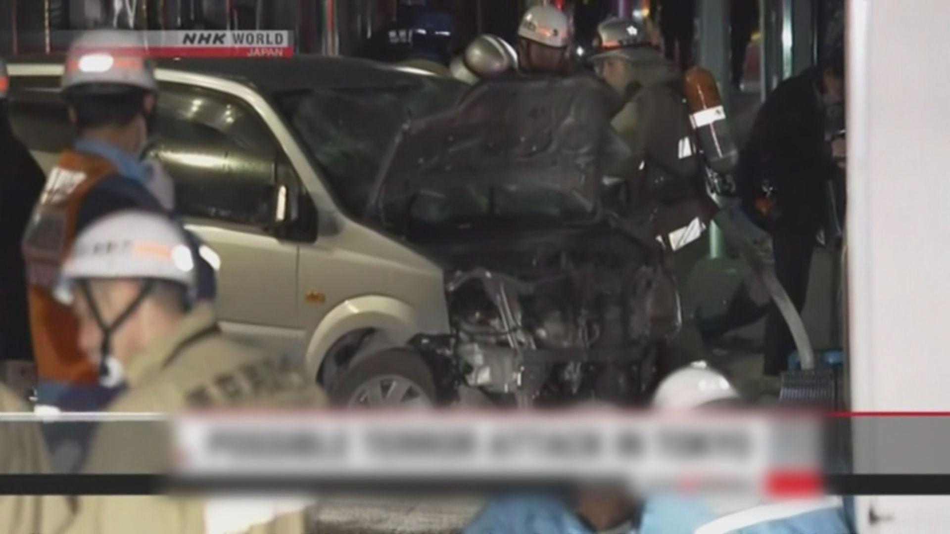 東京涉谷汽車撞向人群疑涉及恐襲