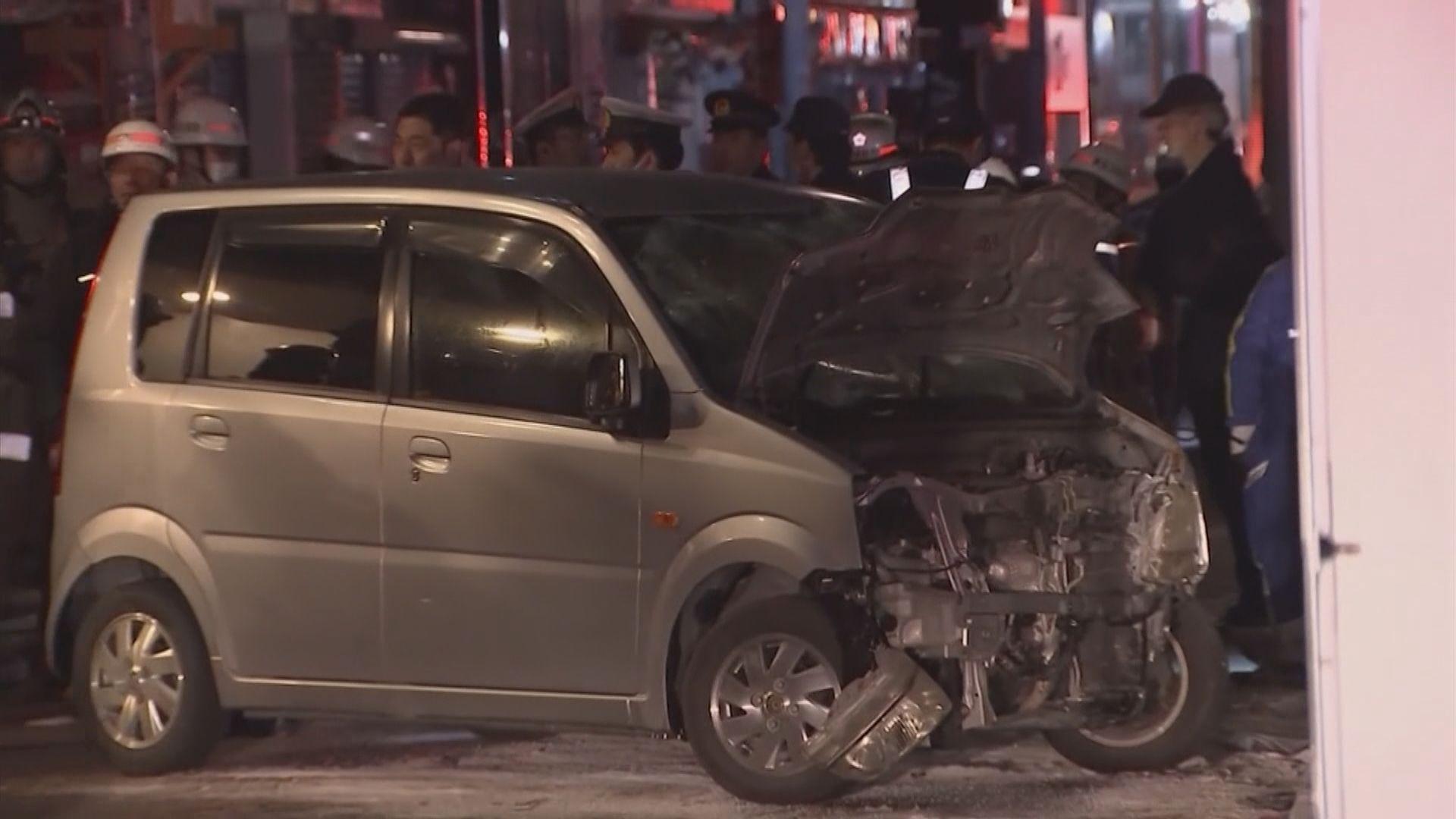 東京汽車撞向人群疑犯一度稱是發動恐襲