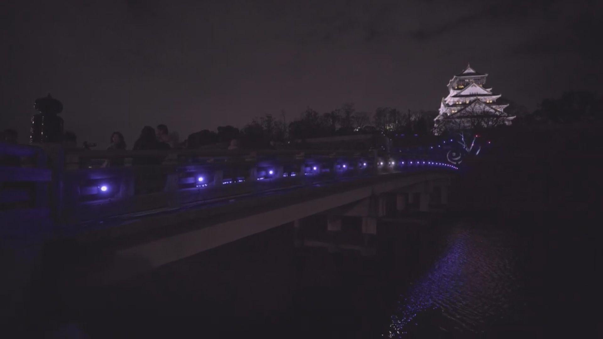 「夜遊大阪城」光影音效帶出夢幻感
