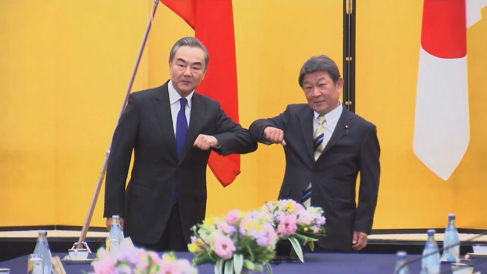 中日外長同意明年召開經濟高層對話