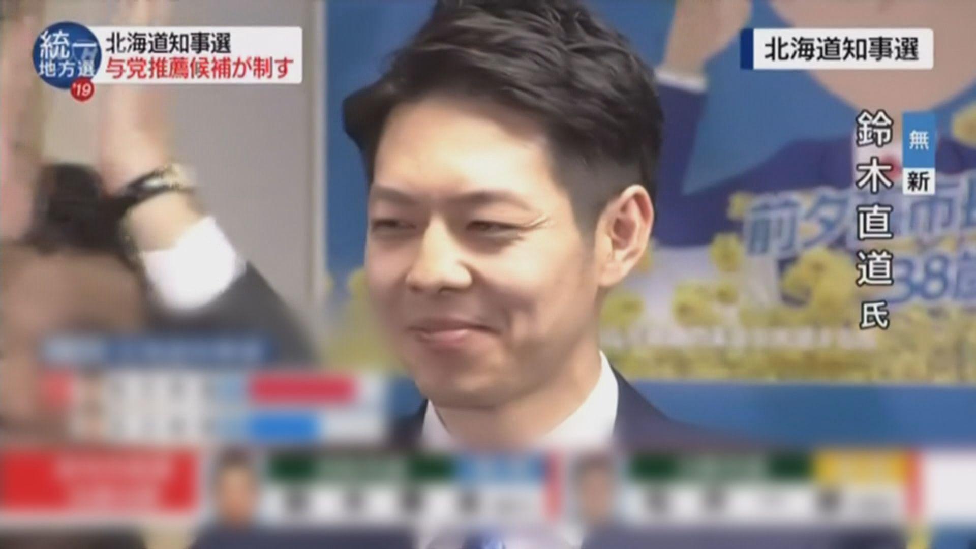 鈴木 直道 知事
