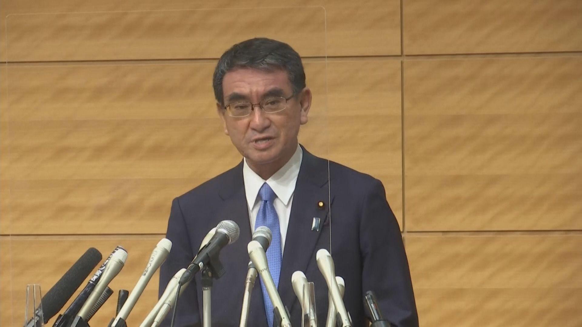 河野太郎稱會推動日本經濟結構性改革