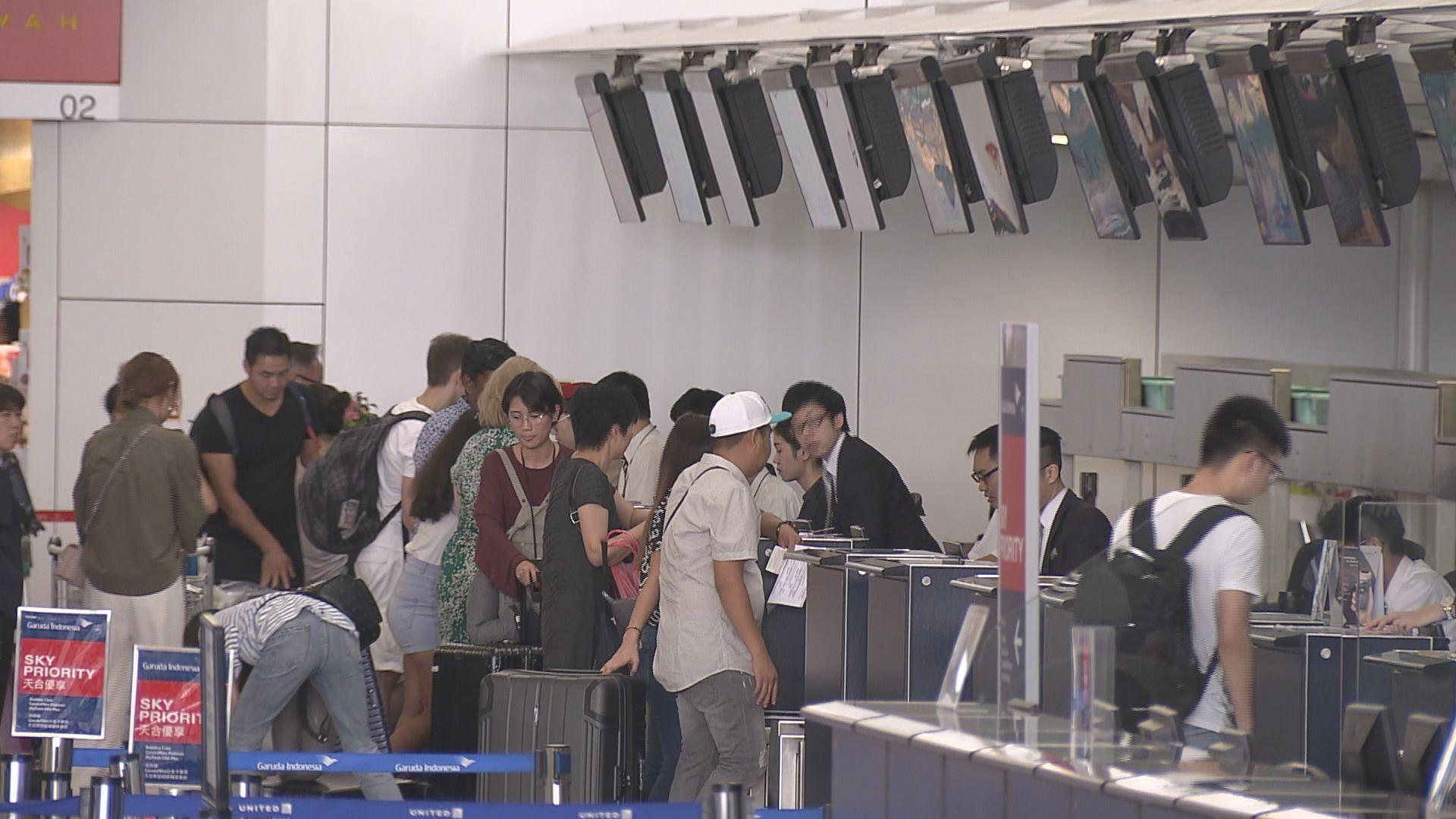 旅議會:旅行團陸續獲安排由東京名古屋返港