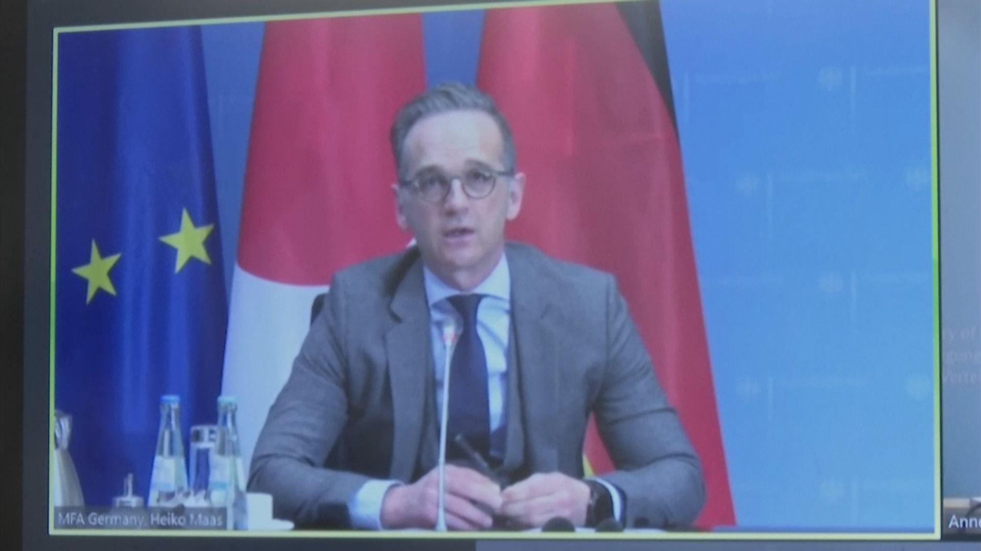 德國外長稱需加強雙邊對話 應對印太地區威脅