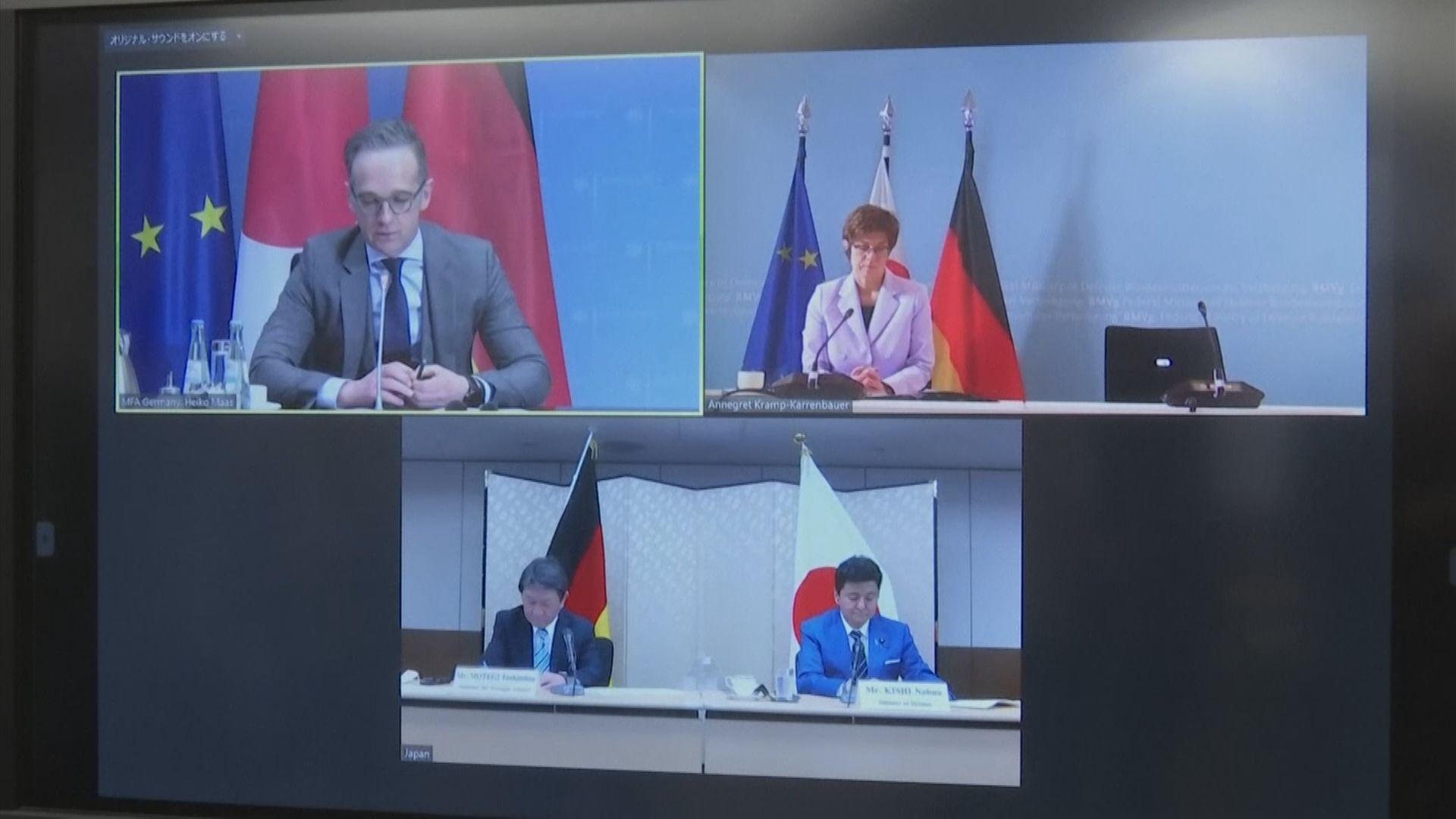日本建議與德國舉行聯合海上演練