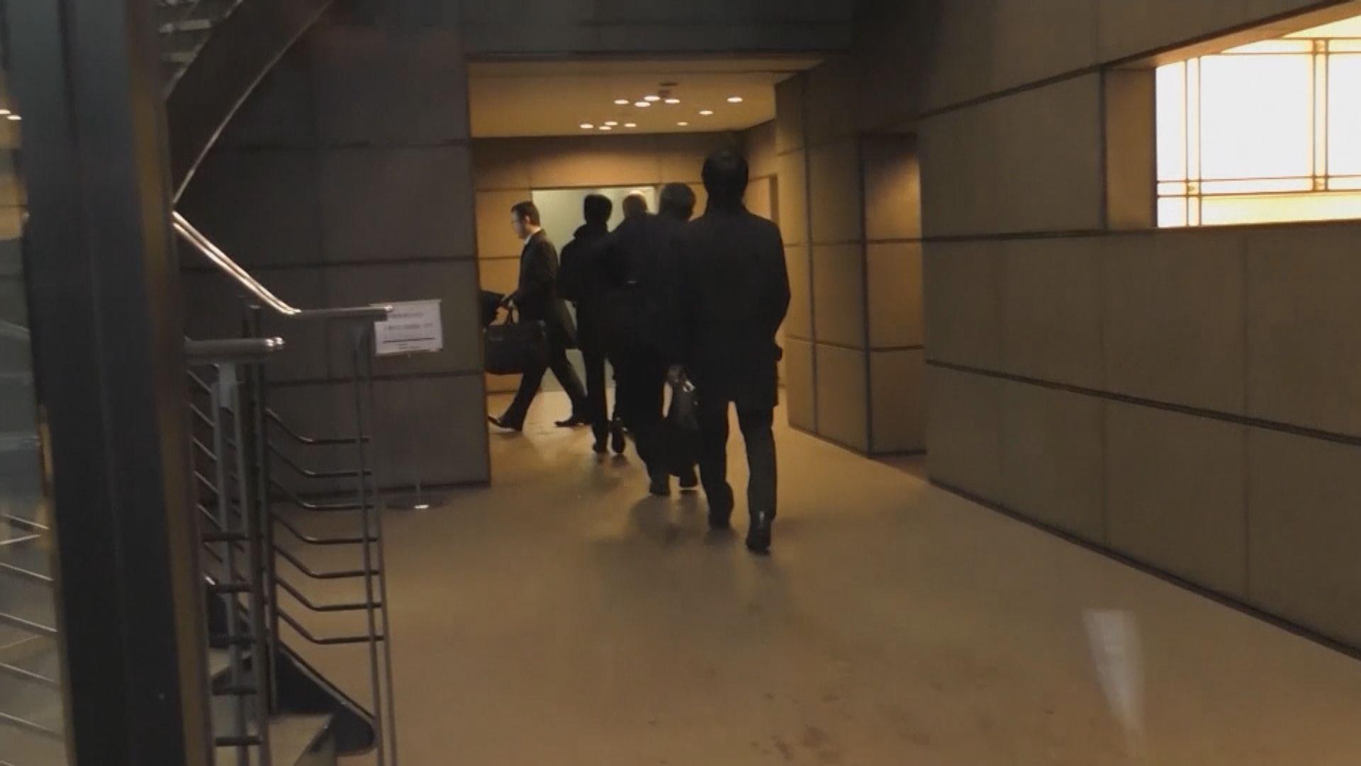 東京地方檢察廳搜查戈恩律師辦公室