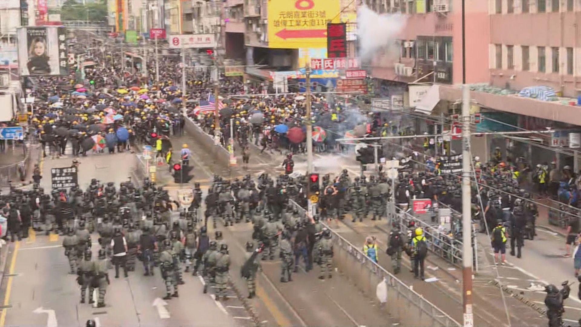 日本就前往香港發布一級危險提醒
