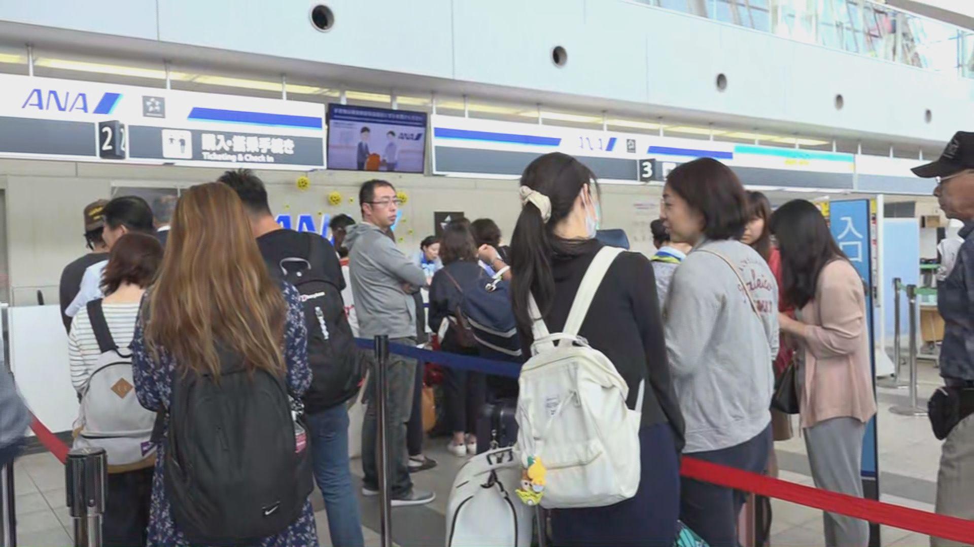 香港自由行旅客轉到旭川撲機位