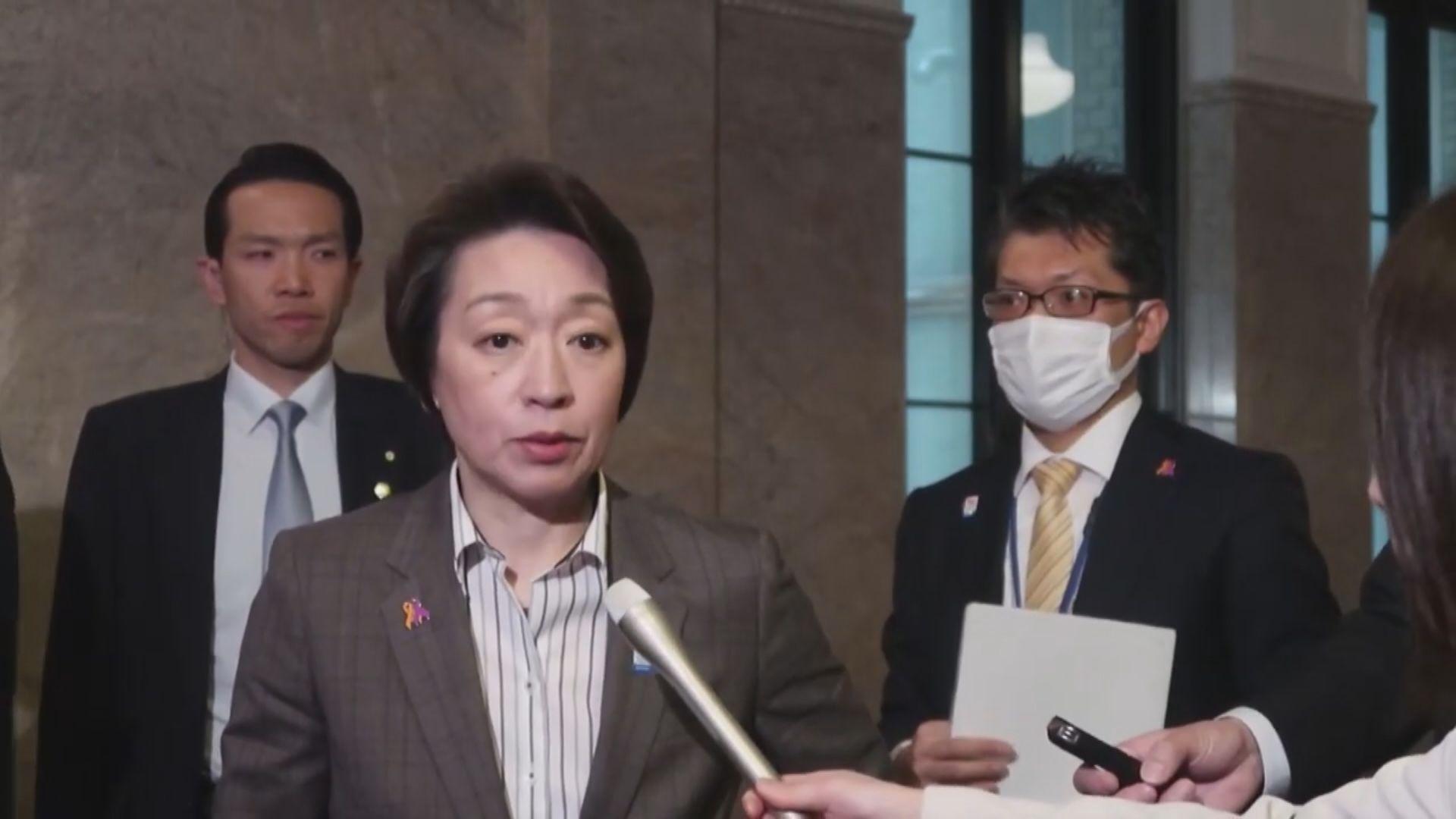 據報日本奧運相橋本聖子或接任奧組委主席