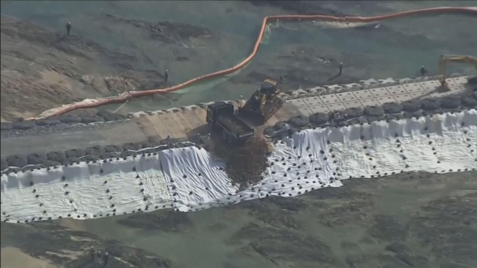 日本政府重啟沖繩邊野古填海工程