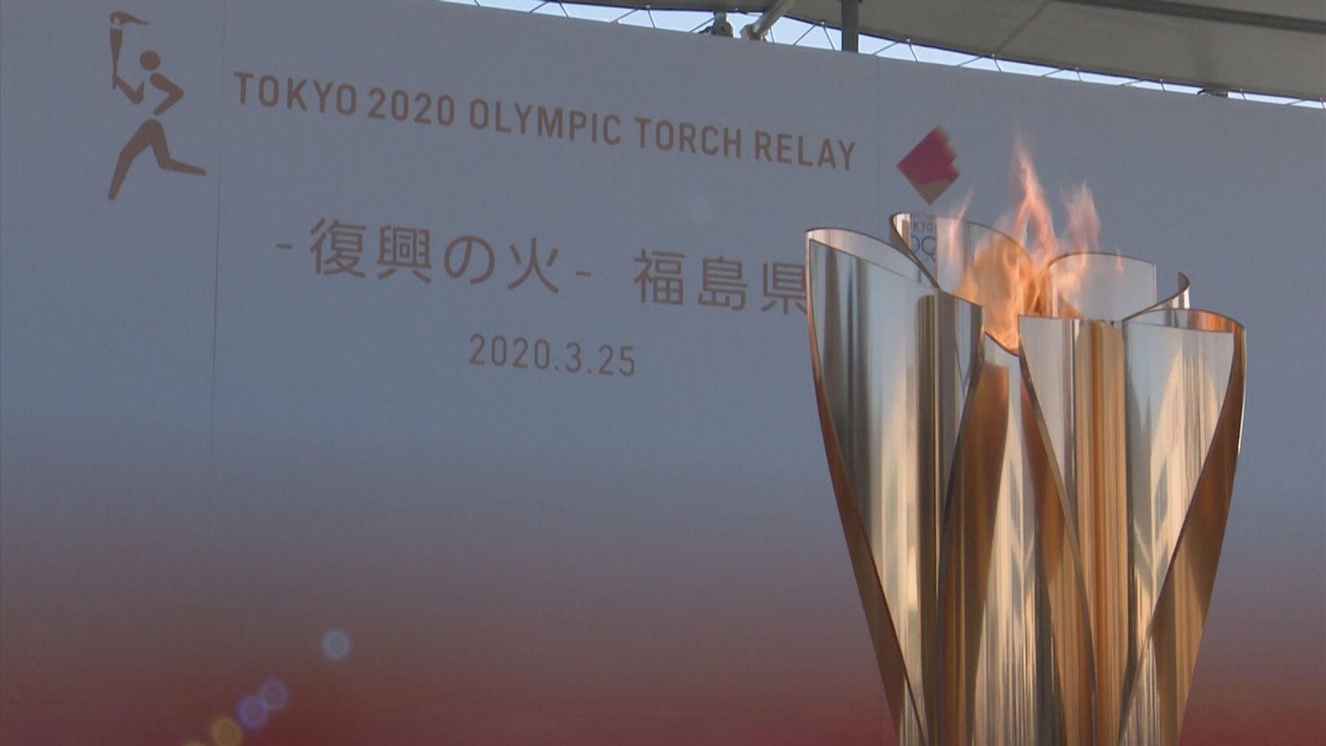 消息指奧運明年七月揭幕 聖火將留在福島縣展出一個月