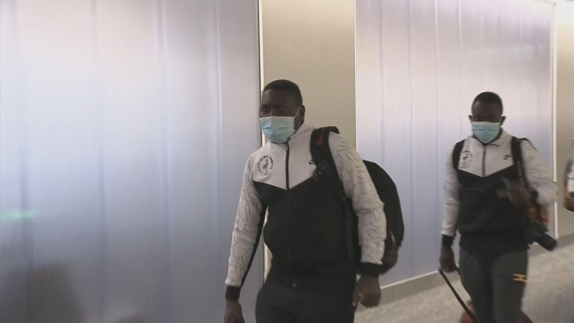 一名烏干達奧運選手抵達日本後確診新冠病毒