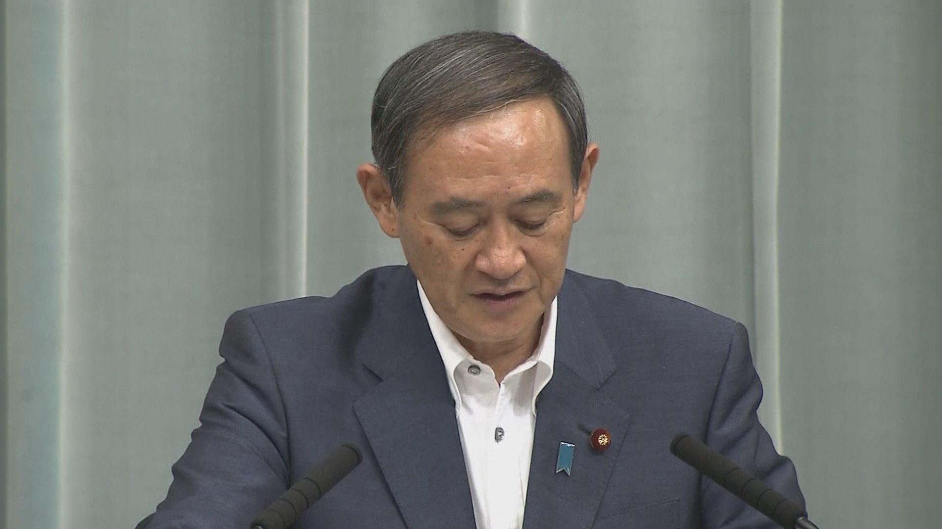 日本共同社調查指菅義偉民間支持度落後石破茂
