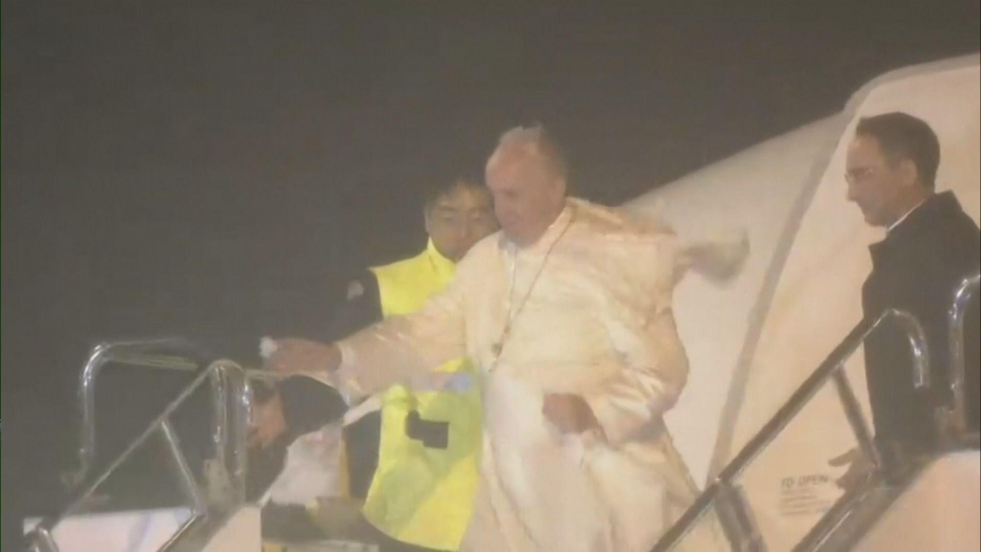 教宗訪日向途經兩岸三地領導人發電文致意