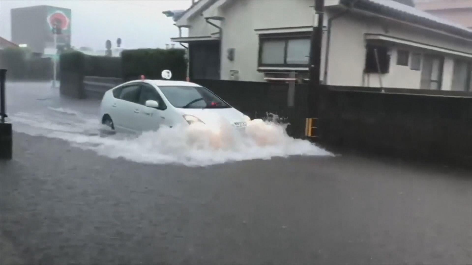九州暴雨持續 逾百萬人疏散