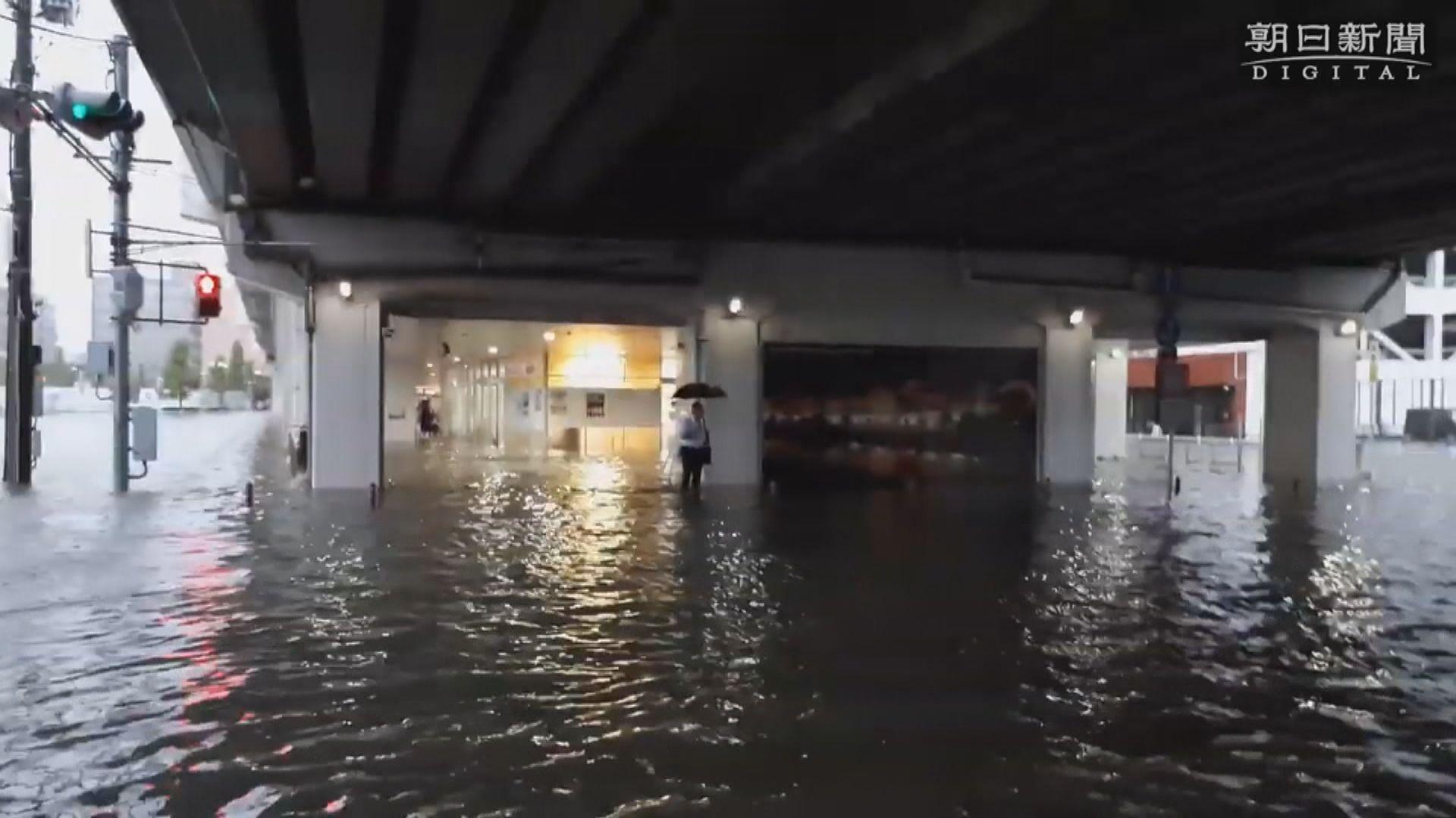 九州北部暴雨成災 當局下令160萬人疏散