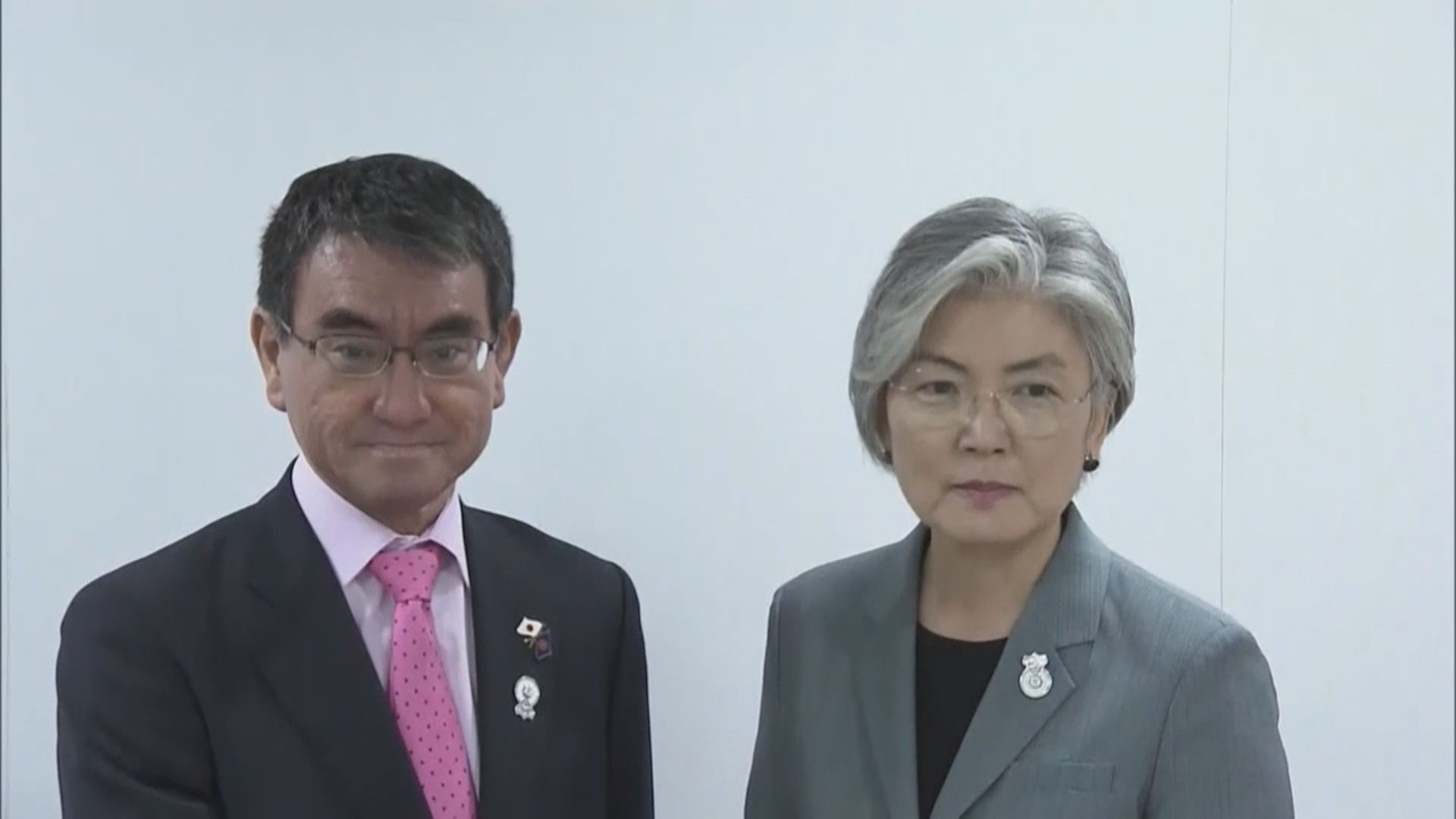 日韓外長討論貿易糾紛未有結果