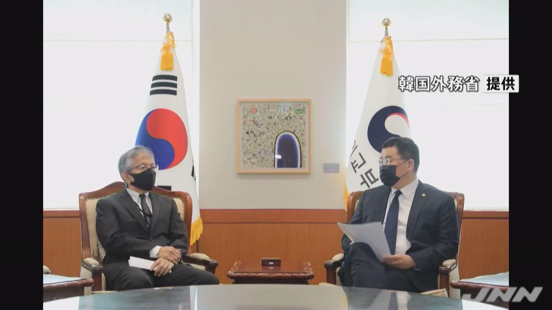 南韓傳召日本駐韓大使抗議外交官發表不當言論