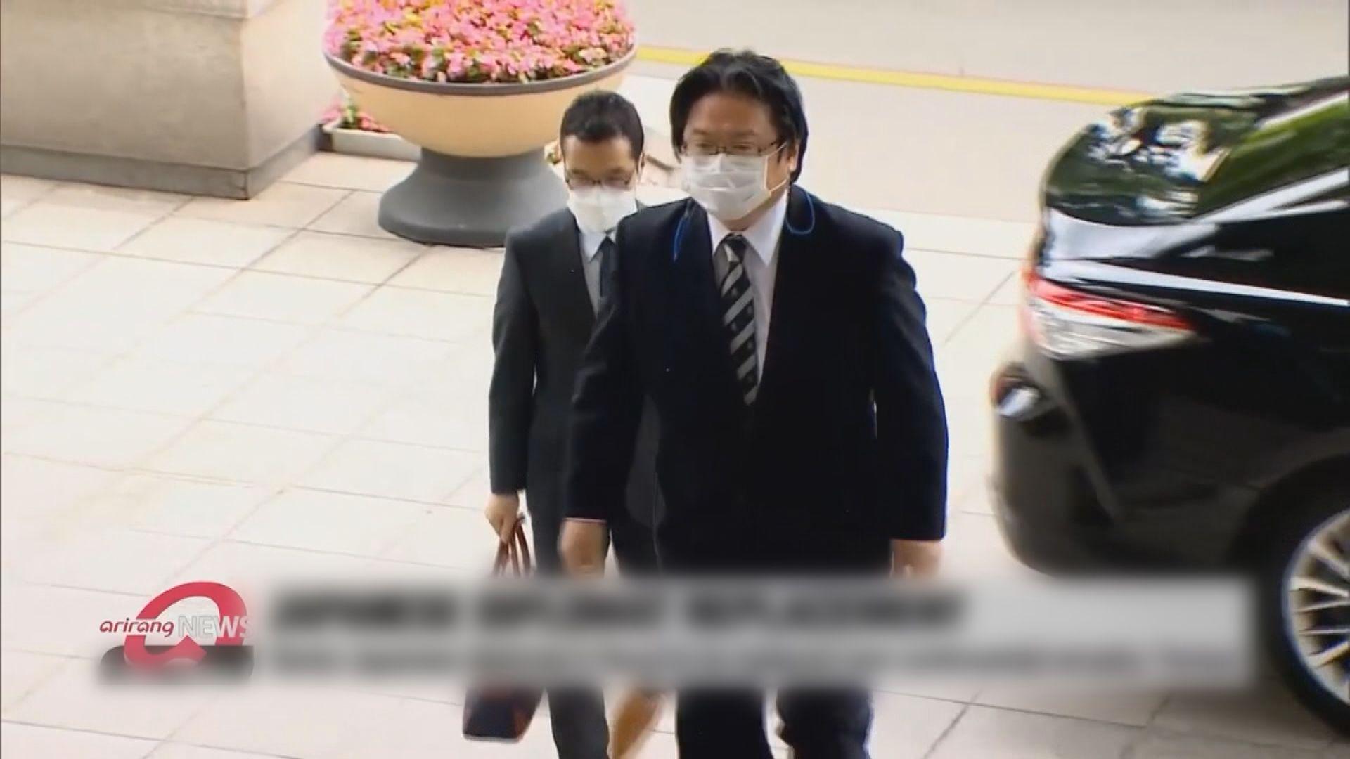 日本駐韓大使館總括公使相馬弘尚遭下令回國
