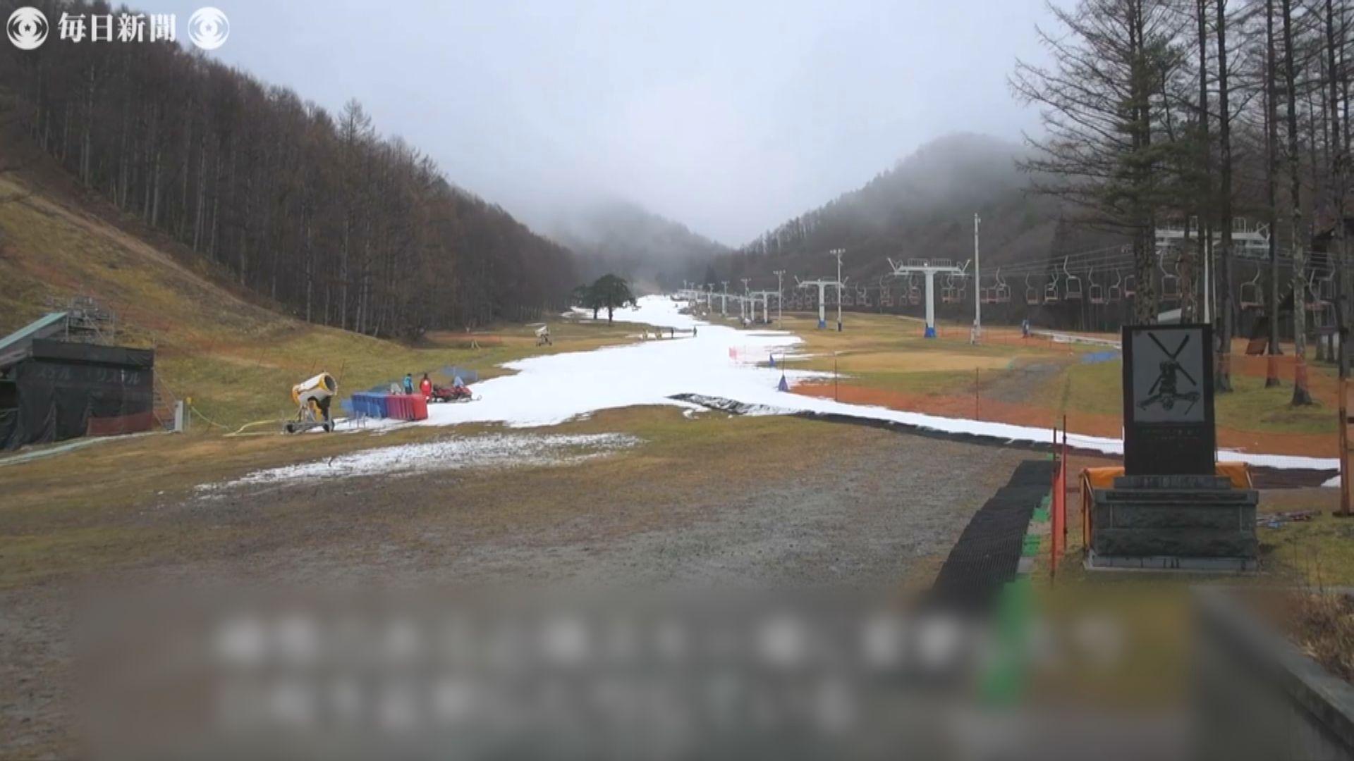 受氣候變化影響日本降雪大減 三成滑雪場無法營業