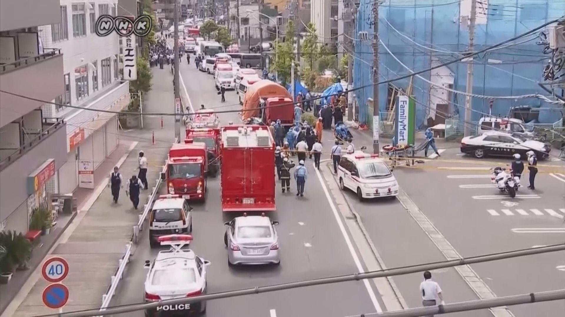 日本川崎市襲擊 消息指疑犯戴手套犯案