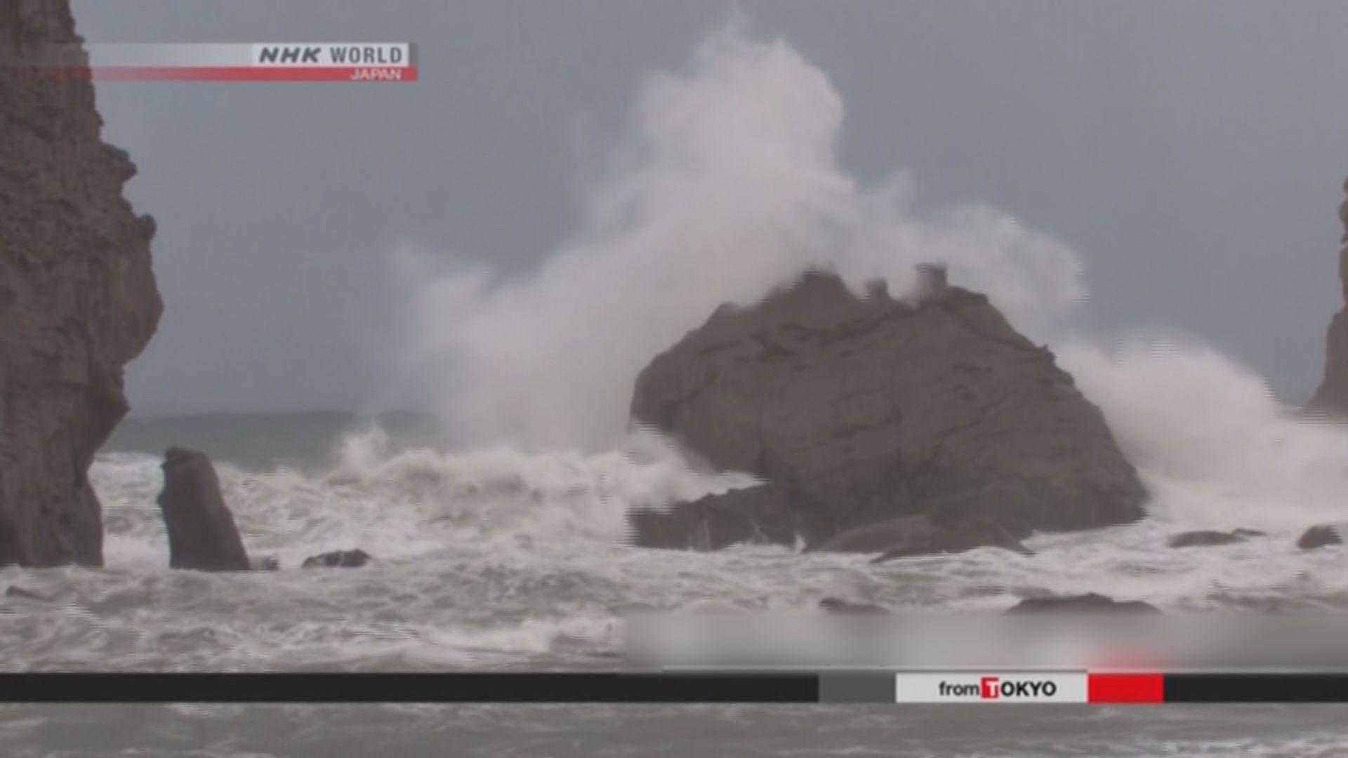 強颱風西馬侖將在日本四國近畿一帶登陸