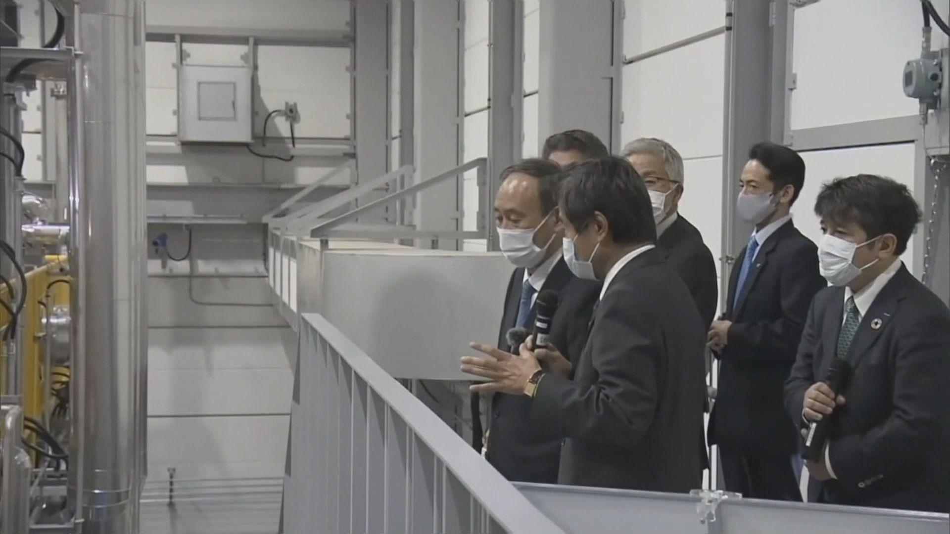日本311大地震即將十周年 菅義偉到福島縣視察