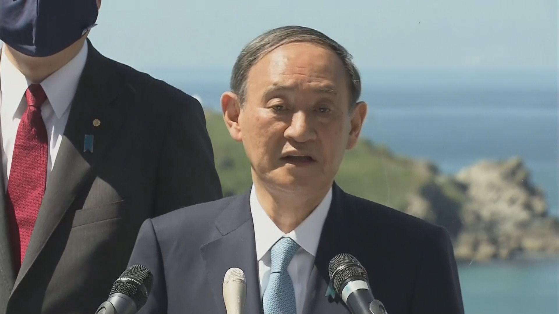 日本在野黨周二對菅義偉提不信任動議