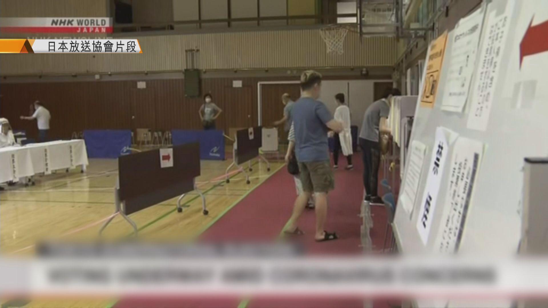 日本東京都知事選舉投票展開