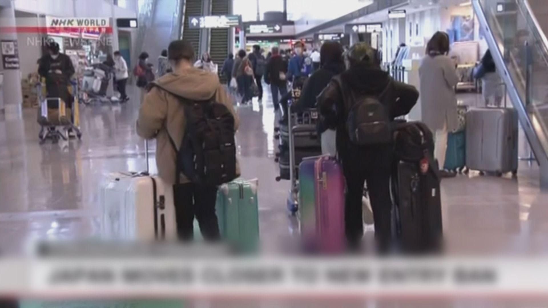 據報日本擬下月准民眾到中、澳、韓等地