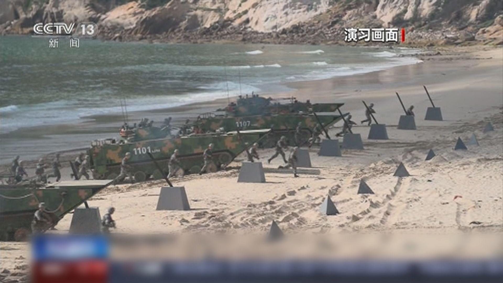 日防相指大陸正對台灣形成軍事包圍