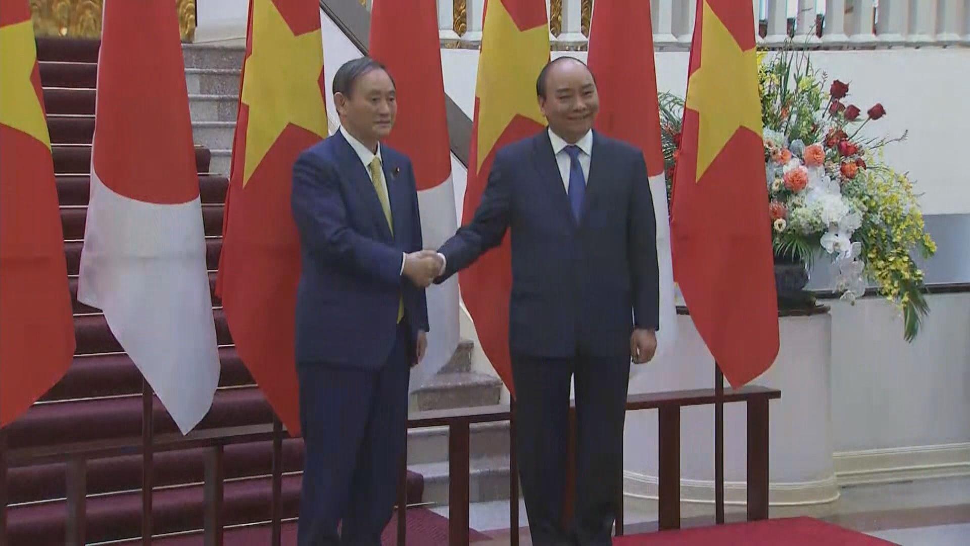 日本與越南確認加強合作關係