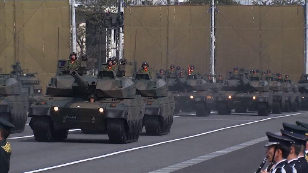 安倍倡議修憲令自衛隊合憲化