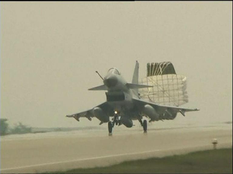航空自衛隊攔截外國戰機次數增
