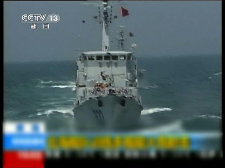 傳解放軍渤海黃海一連八天演習