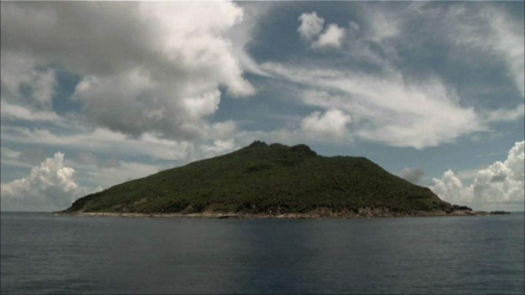 周日共13艘中國公務船進入釣魚島附近海域