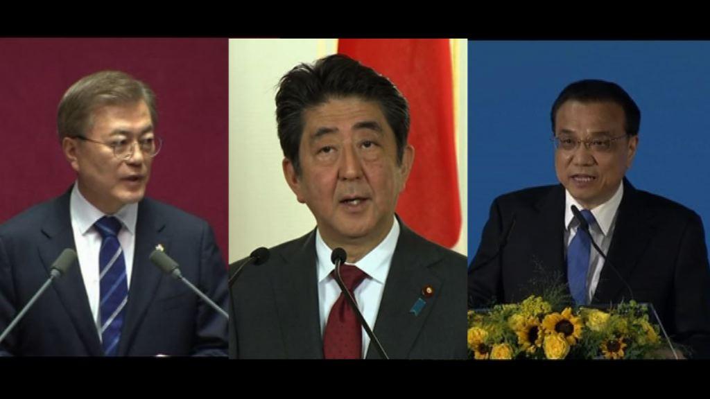 日本擬七月下旬召開中日韓首腦會談