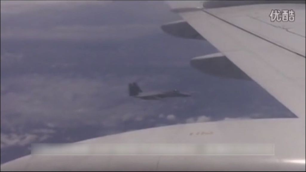 中日戰機本月中於東海空域追逐