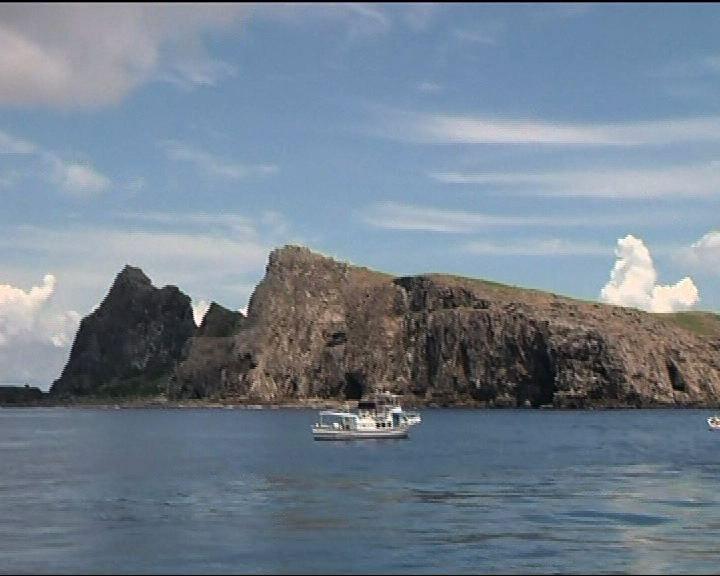 日建預警機部隊警戒監視釣魚島