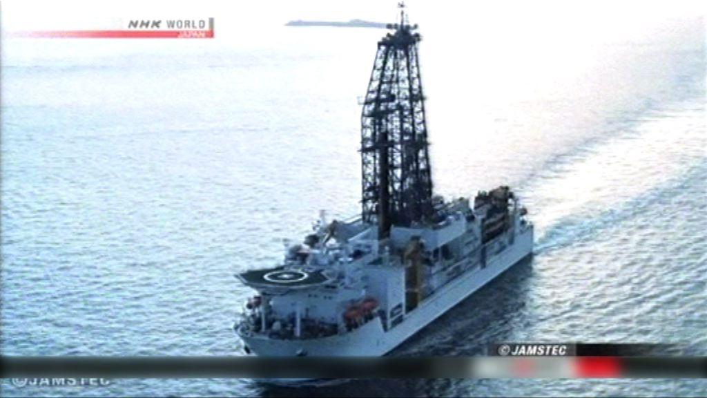 日本深海鑽探船尋合適鑽探地幔位置