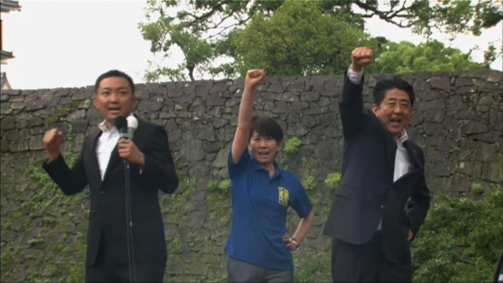 日本各黨為參議院選舉展開拉票