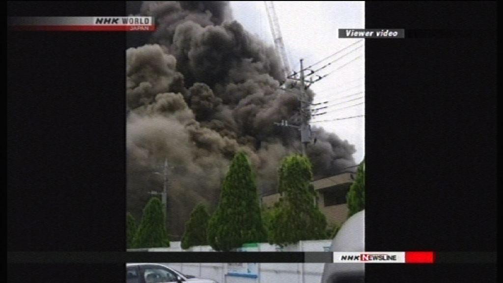 東京建築地盤起火多人傷亡